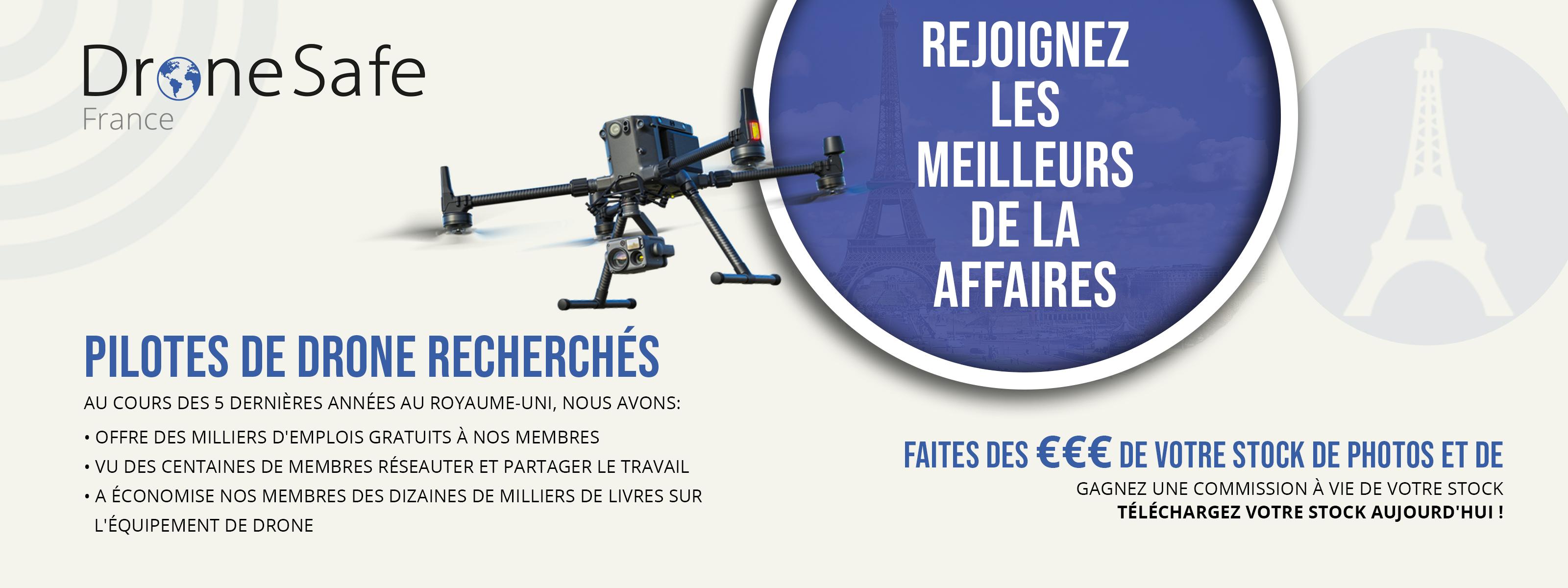 Adhésion à un opérateur de drone commercial